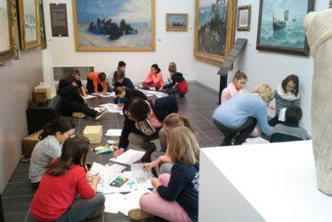 Visite du musée Opale Sud de Berck et atelier pour apprendre les techniques de peintures