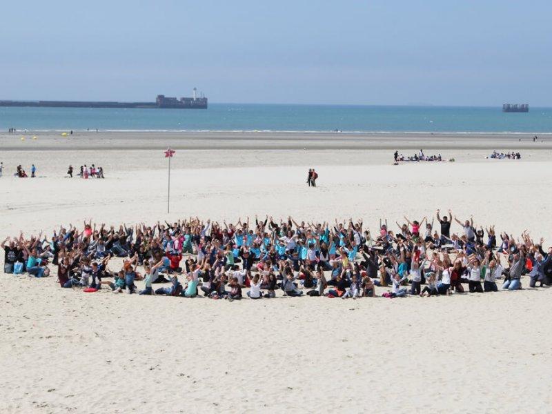 Rassemblement des élèves ayant participé à une AME cette année