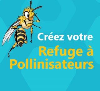 Sapoll - Refuge à pollinisateurs